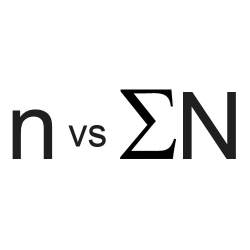 n vs SUM(N): Crowd Sourcing Customer Feedback